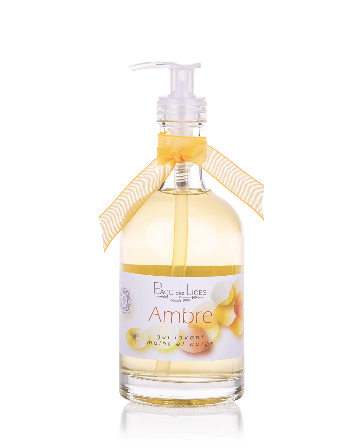 Ambre liquid soap glass Place des Lices