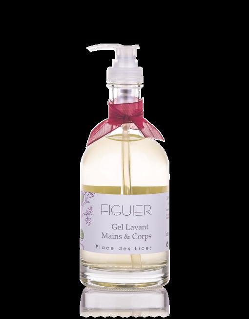 Figuier sapone liquido vetro Place des Lices