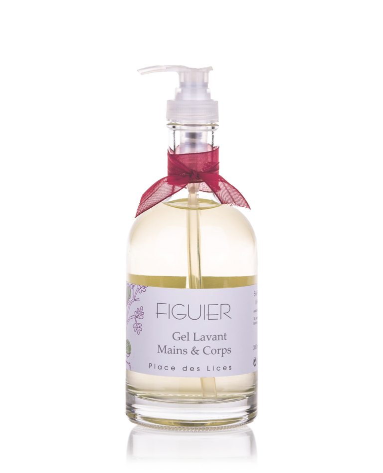 Figuier liquid soap glass Place des Lices