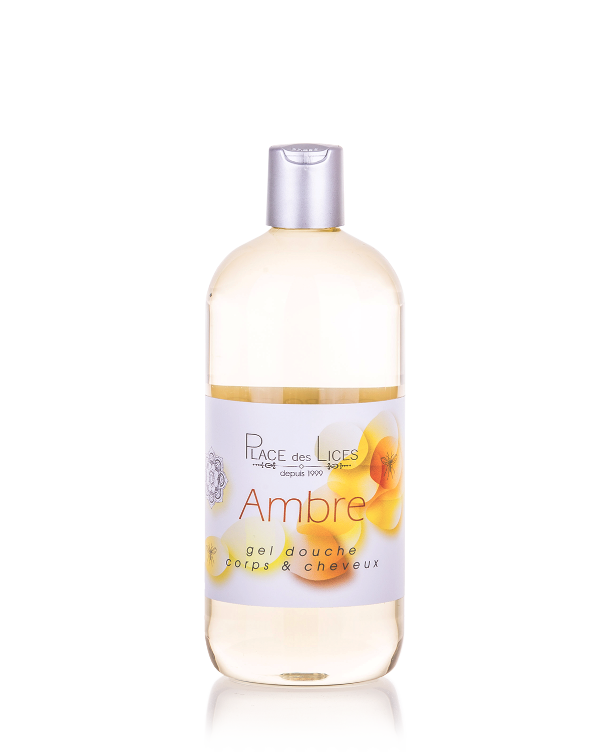Ambre shower gel 500 ml Place des Lices