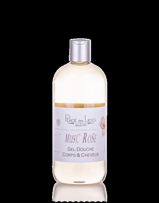 Musc Rose gel doccia 500 ml Place des Lices