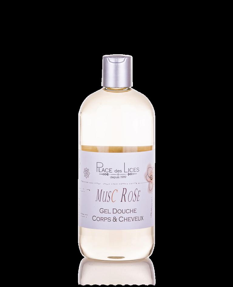Musc Rose shower gel 500 ml Place des Lices