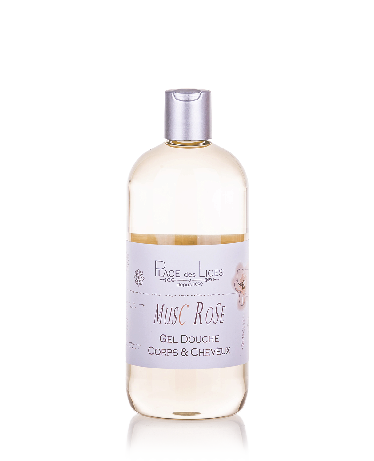 Musc Rose shower gel 500 ml Place des Lices