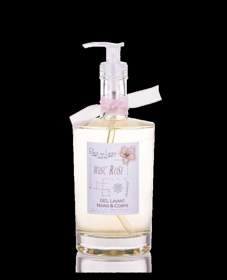 Musc Rose liquid soap Place des Lices