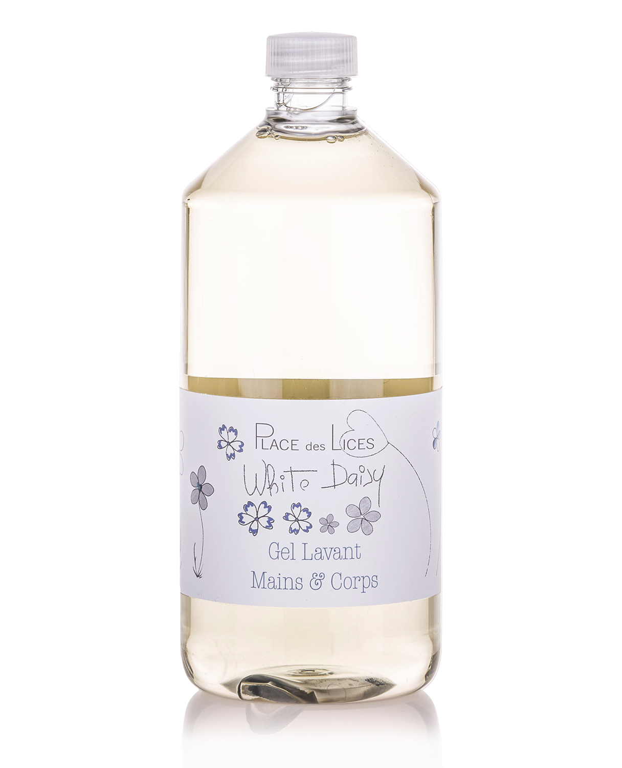 White Daisy liquid soap refill Place des Lices