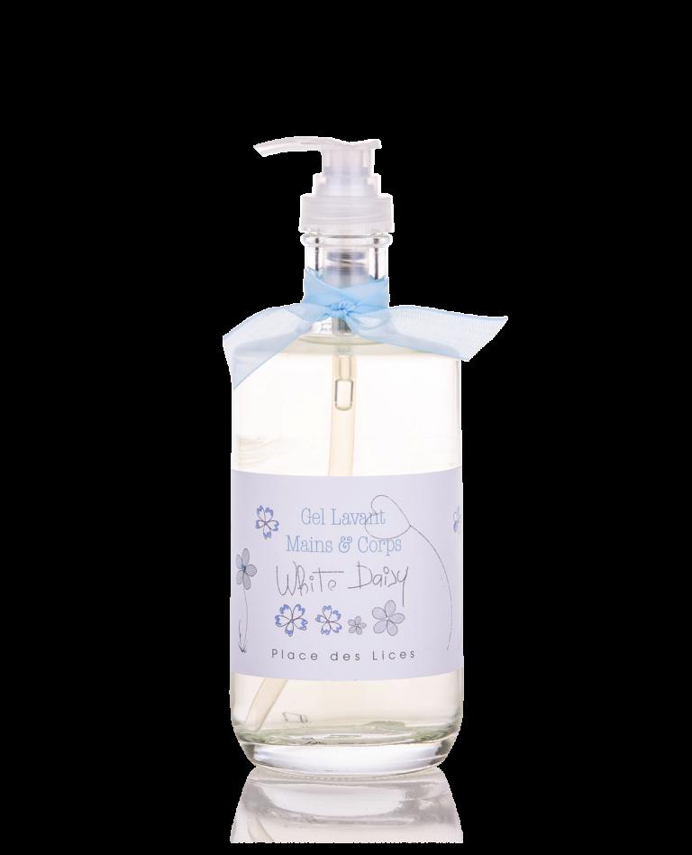 White Daisy liquid soap Place des Lices