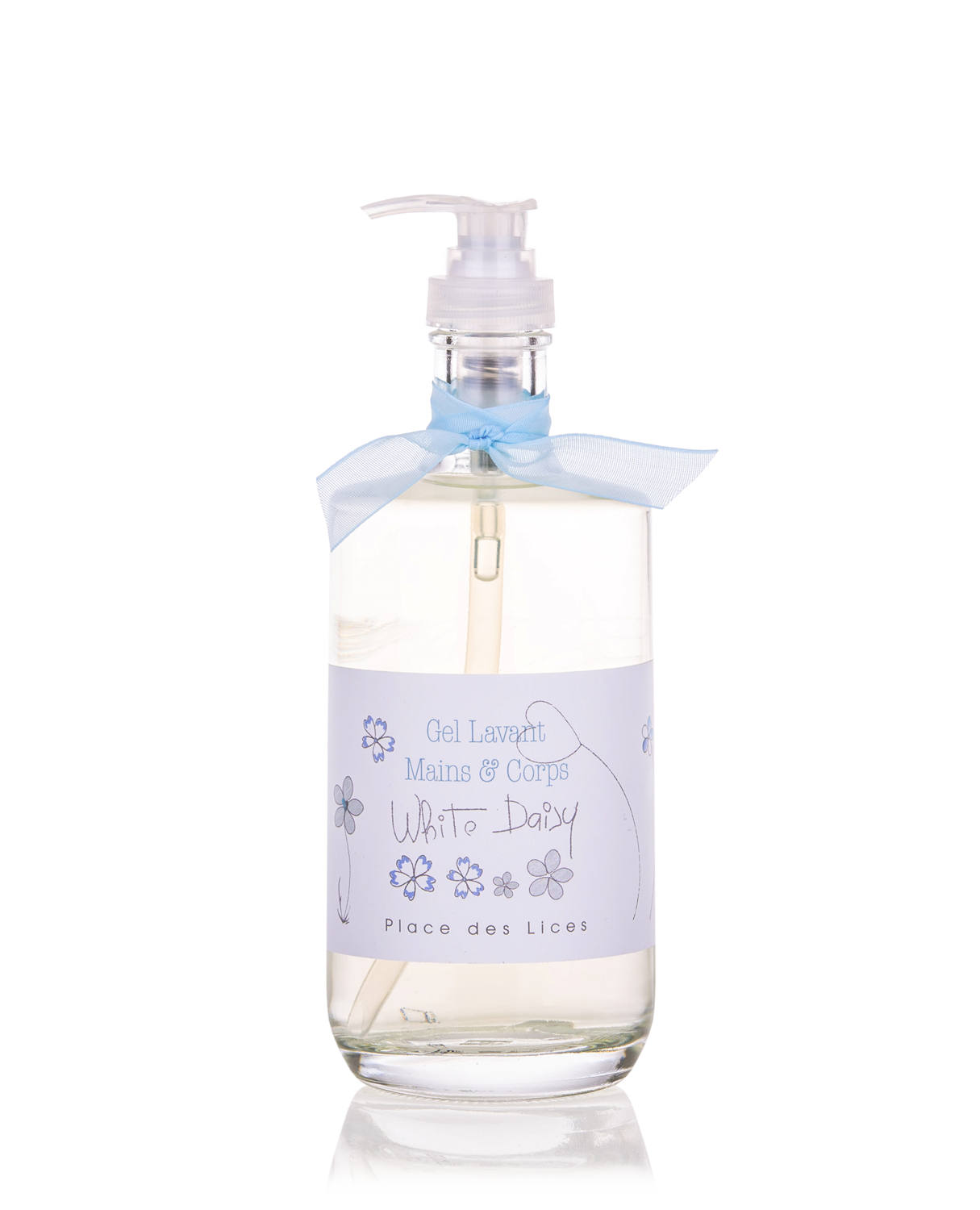 White Daisy liquid soap Place des Lices