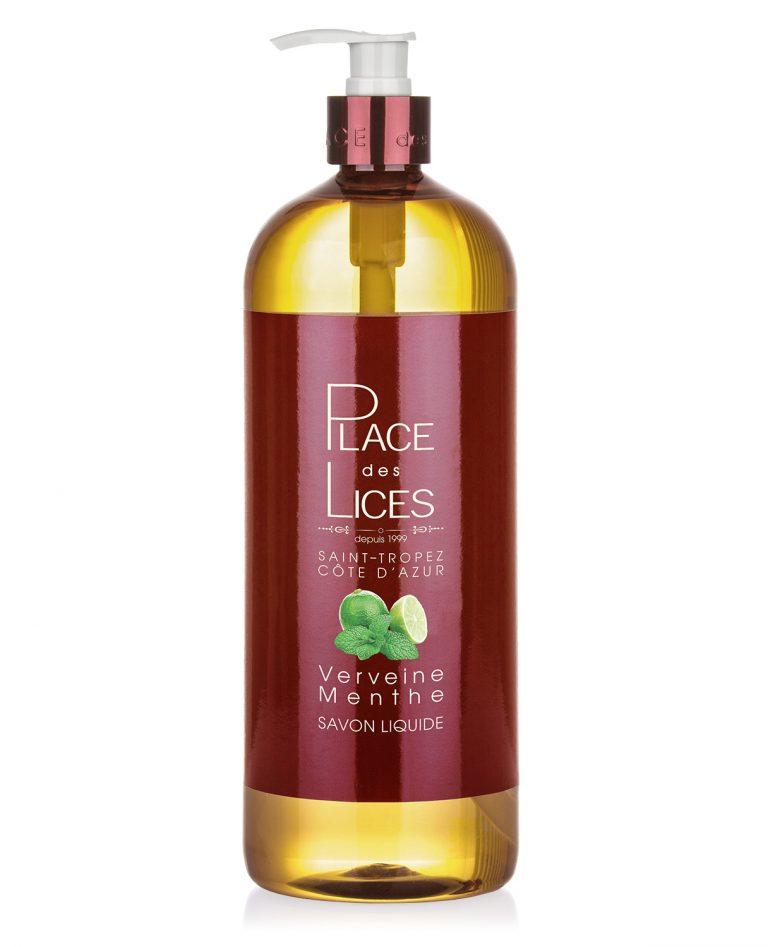 Place des Lices - Tropeziennes Liquid Soap Verveine Menthe 1000ml - Buy online Gida Profumi
