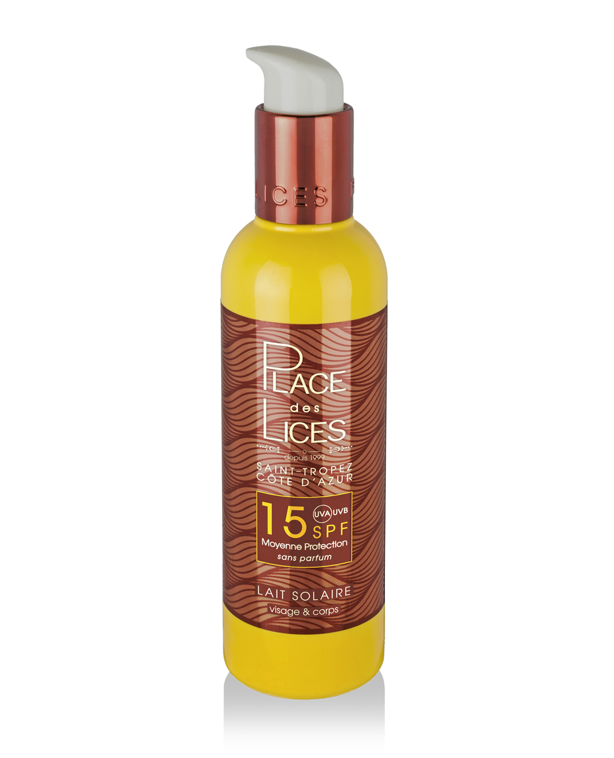 Place des Lices - Sun Lotion Medium Protection SPF15 - Buy online Gida Profumi